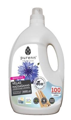 Veļas mazgāšanas līdzeklis bez aromāta SENSITIVE