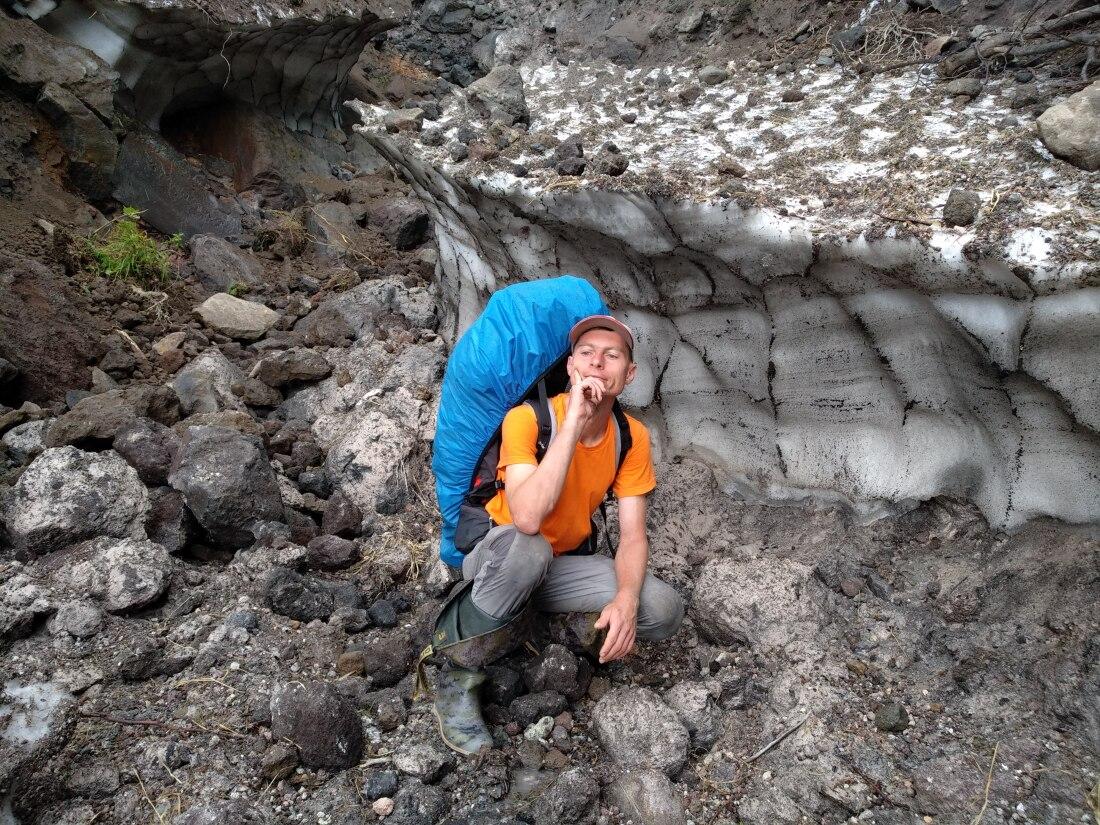 снежник на баранском вулкане фото в августе